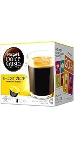 コーヒーカプセル ネスカフェ ドルチェグスト 専用カプセル モーニングブレンド (グランデ) 16杯分