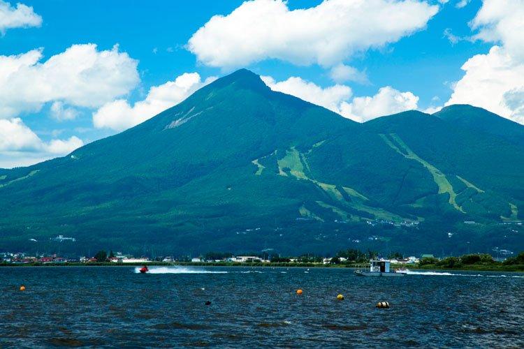 磐梯山・猪苗代湖