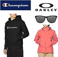 チャンピオン、マムート、オークリーなどのスポーツウェア・サングラスがお買い得