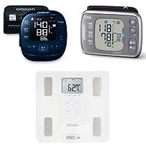 増税前・敬老に オムロンのスマホアプリ対応 血圧計、体重計がお買い得
