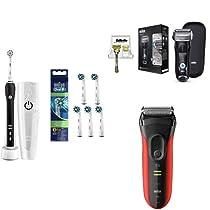 【本日限定】ブラウンの電動歯ブラシ、電気シェーバーがお買い得
