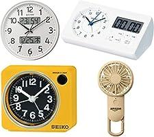 セイコークロック・リズムなどの時計や携帯扇風機などがお買い得