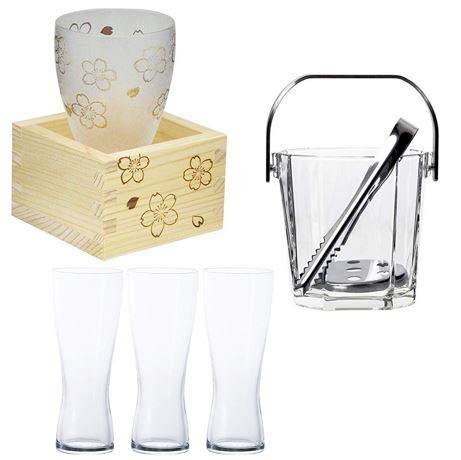 【アデリア】グラス、盃、耐熱ガラス皿、アイスペールなどがお買い得