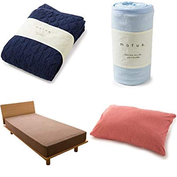 オールシーズン使えるmofua(モフア)の快適寝具がお買い得