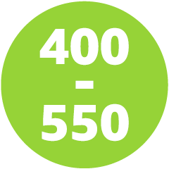 350-500