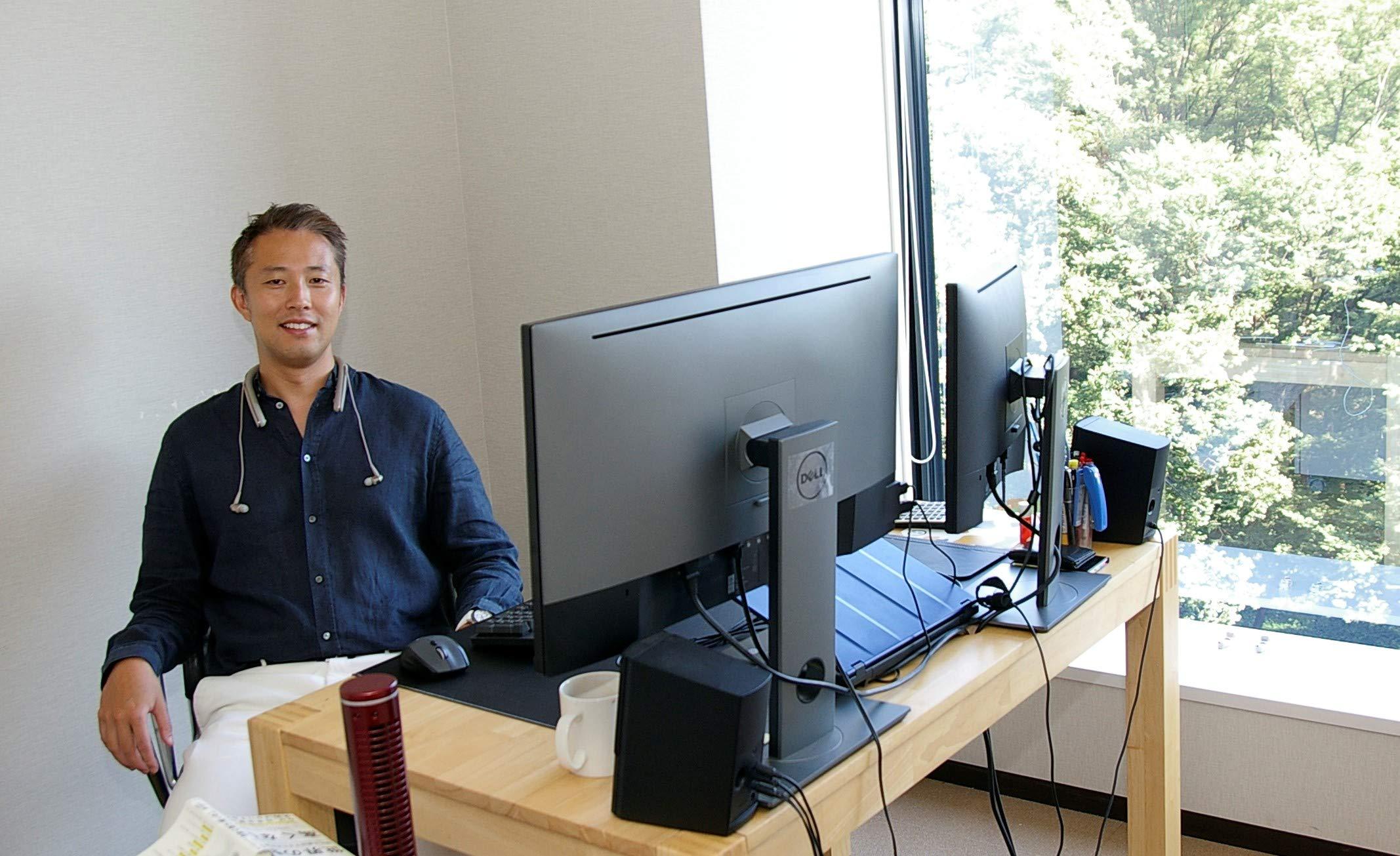 President of necoichi Mr. Takeuchi