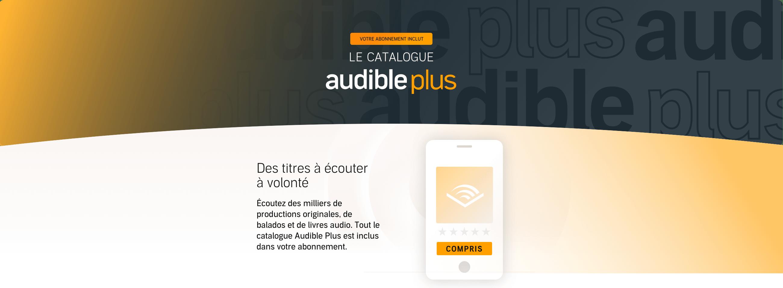 Audible Plus free trial
