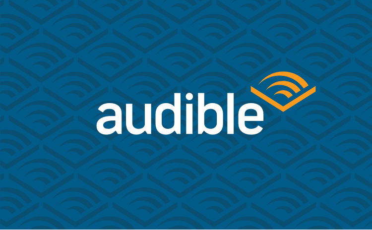 Audible Pattern blue