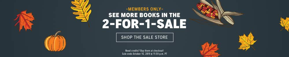 See more books in the 2-for-1 sale >