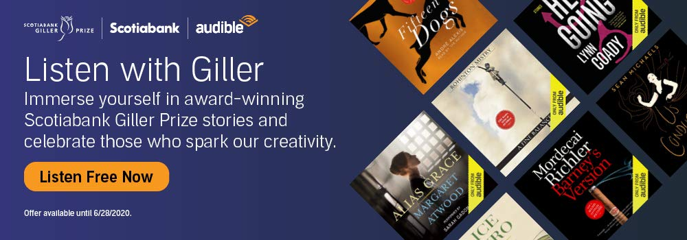 Immerse yourself in award-winning Scotiabank Giller Prize stories and celebrate those who spark our creativity.