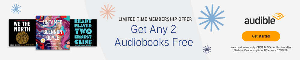 Limited Time Offer: 2 Free Audiobooks