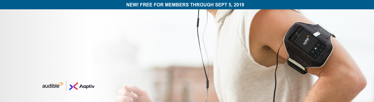 Audio-guided fitness programs, created exclusively for Audible by Aaptiv.
