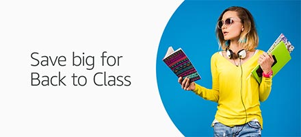 Save big on Back to Class