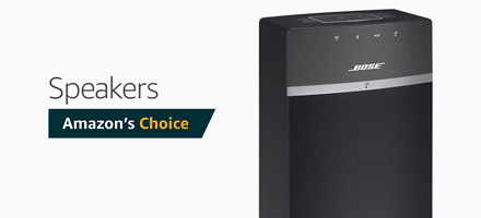 Amazon's Choice Speakers