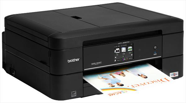 Brother MFC-J680DW Wireless Colour Inkjet Printer 4-in-1 ...