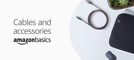 Cables and accessories -- Amazon Basics