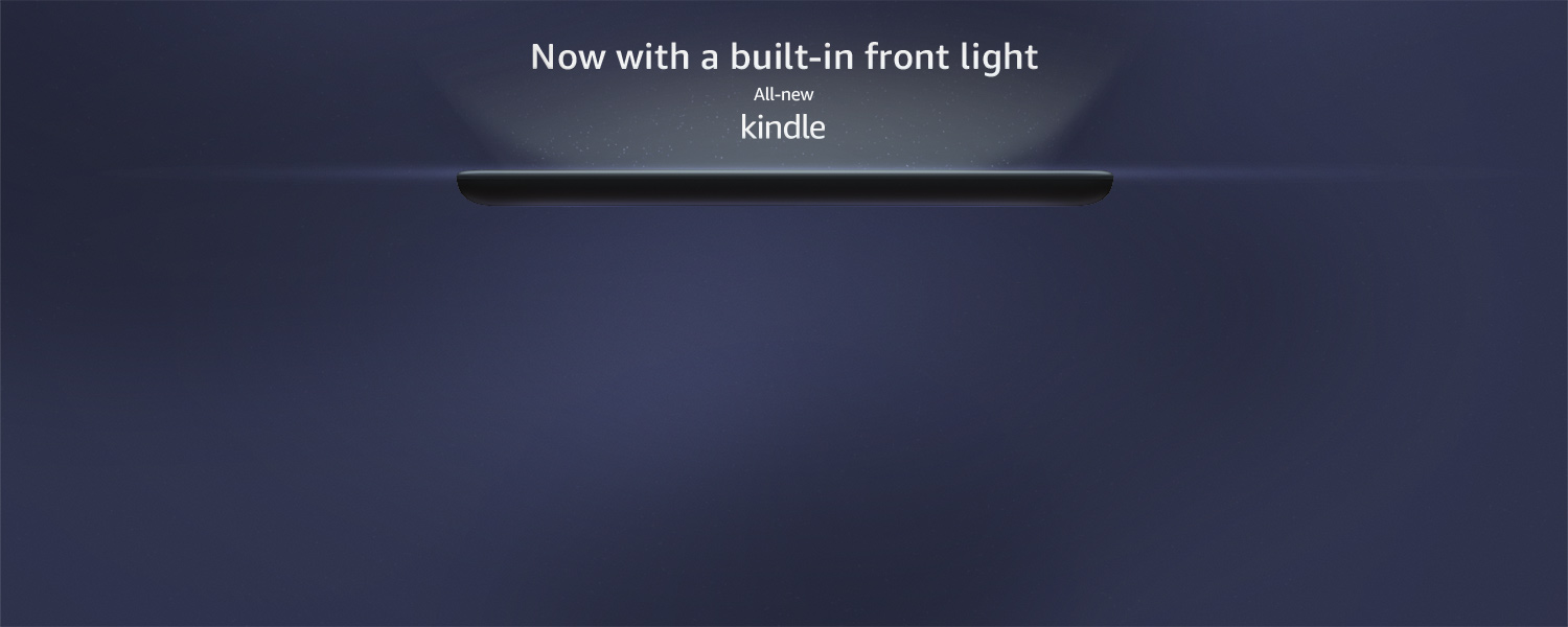 Kindle: Now with a front light