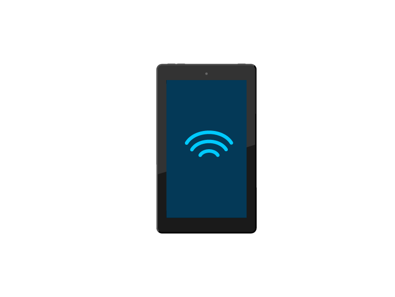 Connect to the internet with the Alexa app.