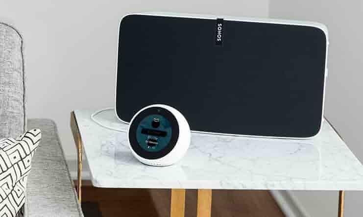 Echo Spot with speaker