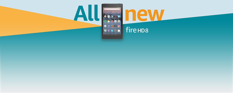All-new Fire HD 8
