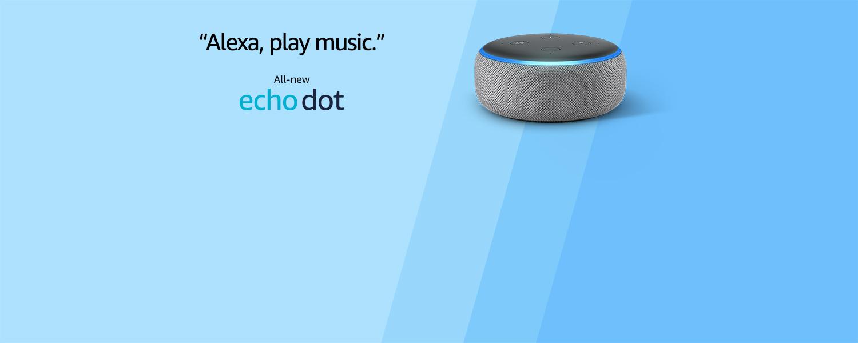 Alexa, play music | Echo Dot