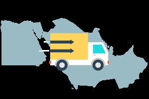 通过亚马逊物流 (FBA) 在中东范围内配送商品