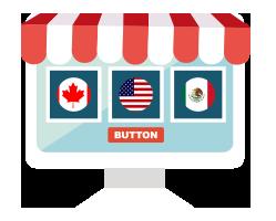 一键同步销售北美三国 (美国、加拿大、墨西哥)