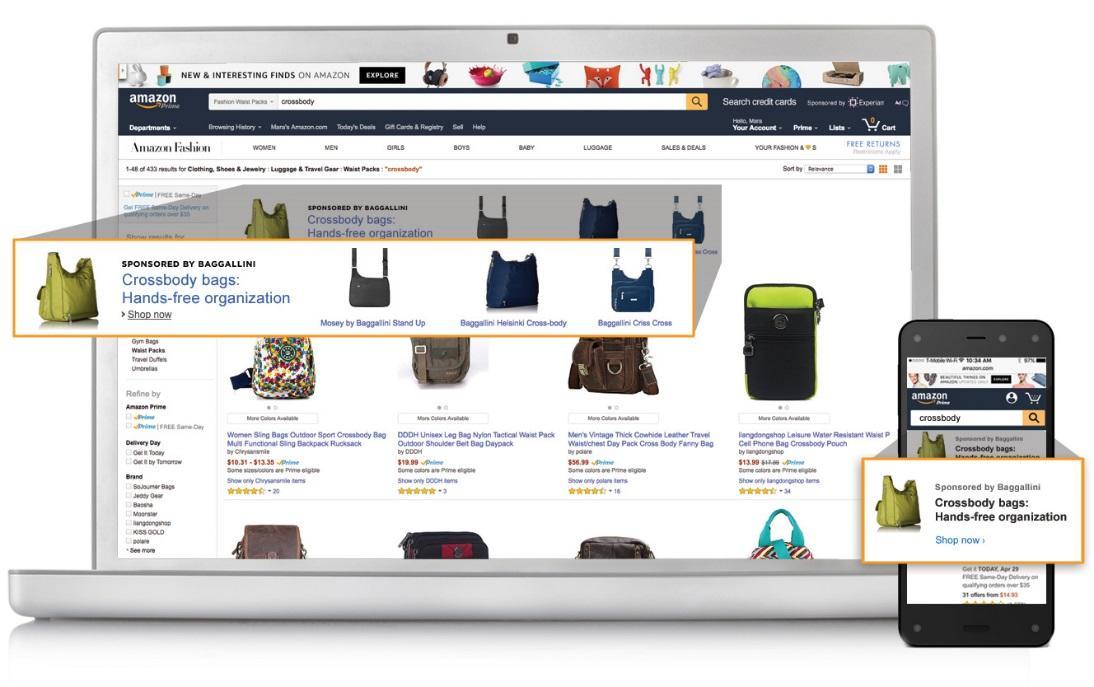 亚马逊广告品牌新买家和品牌推广结合使用