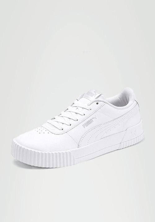 Puma white sneakers