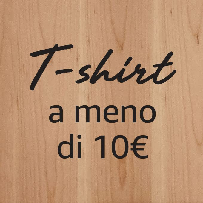 T-shirt a meno di 10€