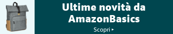 Ultime novità da AmazonBasics