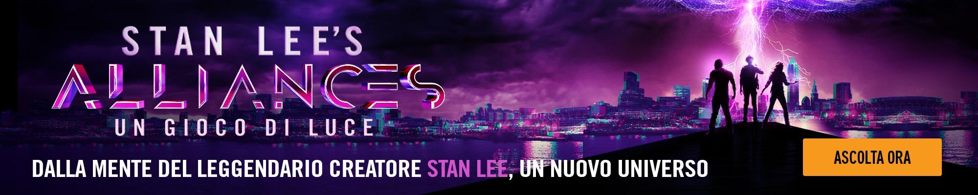 Dalla mente del leggendario creatore Stan Lee, un nuovo universo