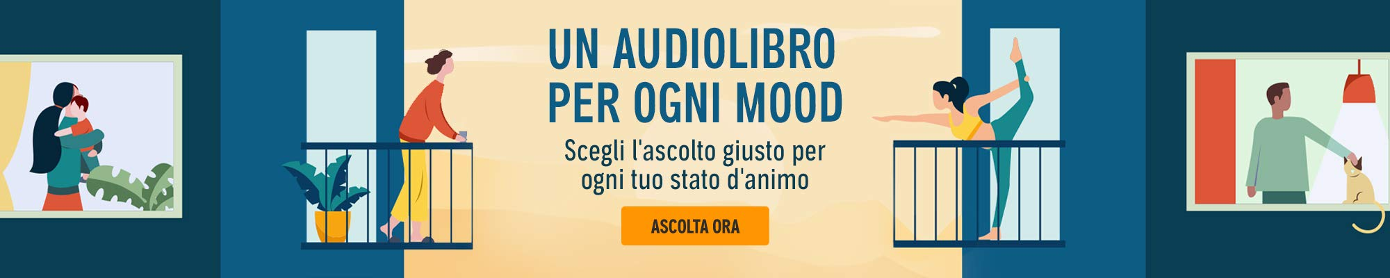 Un Audiolibro per ogni mood