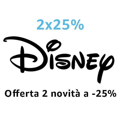 DVD e Blu-ray 2 novità Disney = -25%