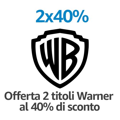 DVD e Blu-ray 2 titoli = -40%