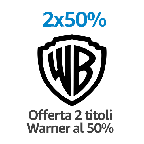 DVD e Blu-ray 2 titoli = -50%