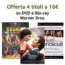 Offerta DVD e Blu-ray Warner Bros.: 4 titoli = 16 EUR