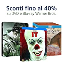 Offerte Warner Bros: DVD e Blu-ray fino al 40% di sconto
