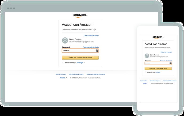 Login con Amazon