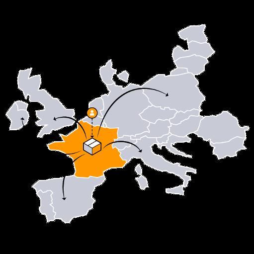 Réseau de Distribution Européen D'amazon
