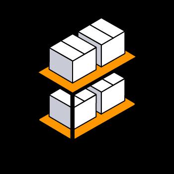 Envía tus productos a un centro logístico de Amazon en la que los almacenaremos