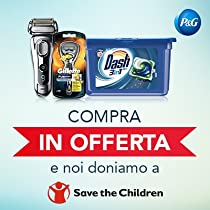 "Scopri l'iniziativa ""P&G regala Save the Children"""