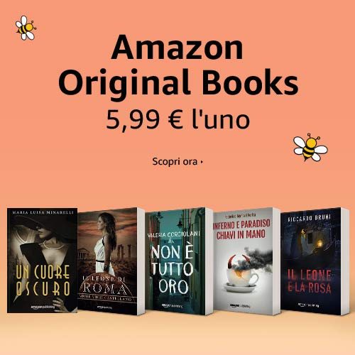 Libri Amazon Original a 5,99 EUR l'uno