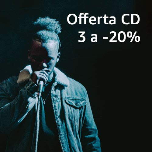 Promozione CD: 3 al 20% di sconto