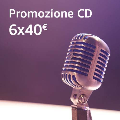 Promozione CD: 6CD a 40€