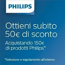 Ottieni 50€ di sconto su prodotti Philips