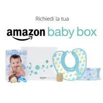 Scopri come richiedere gratuitamente la tua Amazon Baby Box