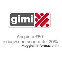 Risparmia il 20% se spendi almeno EUR 50 su prodotti Gimi