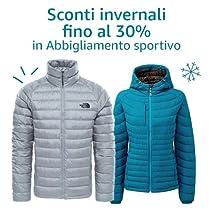 Sconti invernali fino al 30% in Abbigliamento sportivo