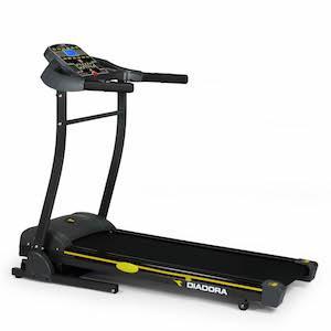 Tapis Roulant elettrico diadora fassi inclinazione homefitness fitness esercizio